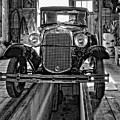 1930 Model T Ford Monochrome by Steve Harrington
