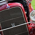 1930 Red Ford Model A-front-8886 by Gary Gingrich Galleries