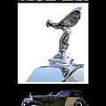 1930 Rolls Royce Mascot And Car by Jack Pumphrey