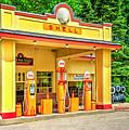 1930s Shell Gas Station by LeeAnn McLaneGoetz McLaneGoetzStudioLLCcom