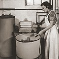 1930s State Of The Art Home Laundry by Everett
