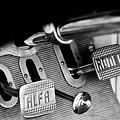 1931 Alfa Romeo 6c 1750 Gran Sport Aprile Spider Corsa Pedals -3689bw by Jill Reger
