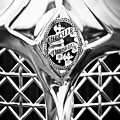 1931 Chrysler Cg Imperial Lebaron Roadster Grille Emblem -2664bw46 by Jill Reger