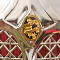 1931 Chrysler Cg Imperial Lebaron Roadster Grille Emblem by Jill Reger