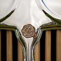 1931 Chrysler Coupe Grille Emblem by Jill Reger