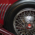 1931 Duesenberg Model J Spare Tire by Jill Reger
