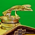 1932 Chevrolet Eagle Hood Ornament by Ginger Wakem