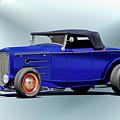 1932 Ford 'classic Hiboy' Roadster Xa by Dave Koontz