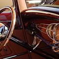 1932 Ford Hot Rod Steering Wheel 3 by Jill Reger