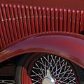 1932 Ford Hot Rod Wheel by Jill Reger