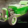 1932 Ford Roadster Color Photographs And Fine Art Prints 004.02 by M K Miller