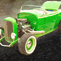 1932 Ford Roadster Painting Prints 026.02 by M K Miller