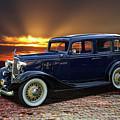 1933 Chevrolet 4 Door Eagle Sedan by Nick Gray
