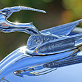 1933 Chrysler Imperial Hood Ornament 2 by Jill Reger
