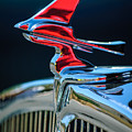 1933 Franklin Olympic Hood Ornament by Jill Reger