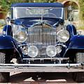 1933 Packard 12 Convertible Coupe by Jill Reger