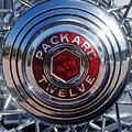 1933 Packard 12 Wheel by Jill Reger