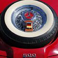 1934 Mercedes Benz 500k Roadster 8 Spare Tire by Jill Reger