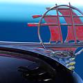 1934 Plymouth Hood Ornament by Jill Reger