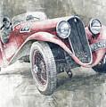 1934 Walter Standart S Jindrih Knapp 1000 Mil Ceskoslovenskych Winner  by Yuriy Shevchuk