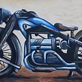 1934 Zundapp Motorcycle by Scott White