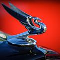 1935 Chevrolet Sedan Hood Ornament -0116c by Jill Reger