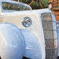 1935 Plymouth Coupe Series 3 Of 3 by Mary Lou Chmura