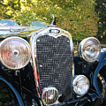 1935 Triumph Southern Cross Front Grill by Allen Beatty