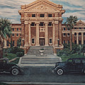 1936 Era Nueces County Courthouse by Diann Baggett