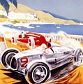 1936 F1 Monaco Grand Prix  by Georgia Fowler
