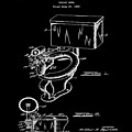 1936 Toilet Bowl Patent Black by Bill Cannon