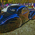 1937 Bugatti Type 57 S C Atalante Coupe by Allen Beatty
