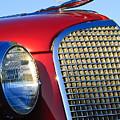 1937 Cadillac V8 Hood Ornament 2 by Jill Reger