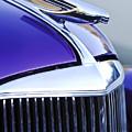 1937 Chevrolet Hood Ornament 2 by Jill Reger