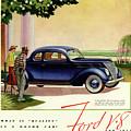 1937 Ford Car Ad by Allen Beilschmidt