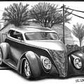 1937 Ford Sedan by Peter Piatt