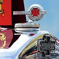 1938 American Lafrance Fire Truck Hood Ornament by Jill Reger