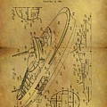 1938 Battleship Patent by Dan Sproul