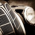 1938 Bmw 327-8 Cabriolet Grille Emblem -1526s by Jill Reger