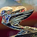 1938 Cadillac V-16 Sedan Hood Ornament by Jill Reger