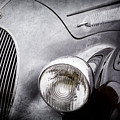 1938 Talbot-lago 150c Ss Figoni And Falaschi Cabriolet Headlight - Emblem -1554ac by Jill Reger