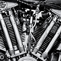 1939 Brough Superior Ss100 Engine by Tim Gainey
