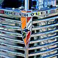 1939 Chevrolet Coupe Grille Emblem by Jill Reger