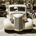 1939 Chevrolet Pickup Antique Car In Sepia Print Or Canvas Prints 3518.01 by M K Miller
