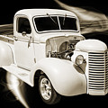 1939 Chevrolet Pickup Antique Car In Sepia Print Or Canvas Print 3519.01 by M K Miller