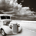 1939 Chevrolet Pickup Antique Car In Sepia Print Or Canvas Prints 3517.01 by M K Miller