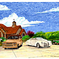 1939 Lincoln Zephyr  Family Home by Jack Pumphrey