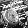 1940 Cadillac 60 Special Sedan Steering Wheel -197bw by Jill Reger