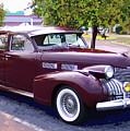 1940 Classic Cadillac  by Garland Johnson