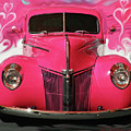 1940 Classic Hot Pink Ford by Patricia L Davidson